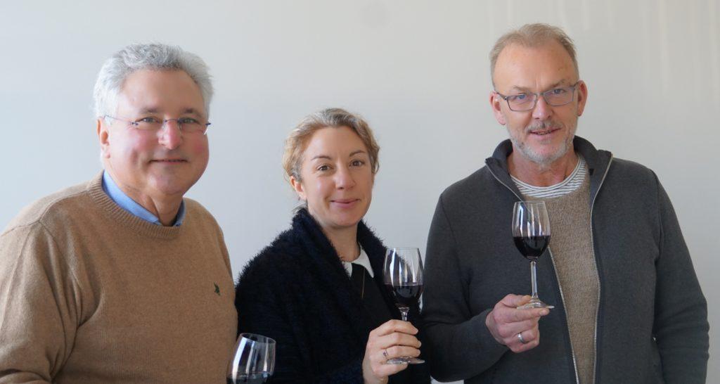 Bernard CREBASSA, Stéphanie AGIER et Thierry JOUAN.